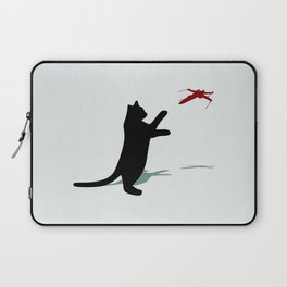 Cat and X-Wing Laptop Sleeve