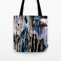 grunge Tote Bags featuring Grunge by Paige Elizabeth
