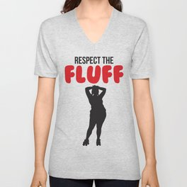 Respect the Fluff Unisex V-Neck