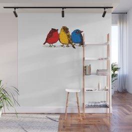 Furious Fowls Wall Mural