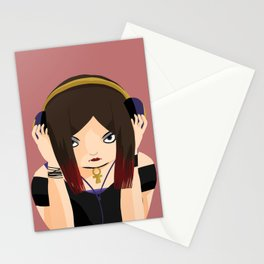 Black Rose Love Stationery Cards