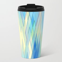 Re-Created Vertices No. 8 by Robert S. Lee Travel Mug