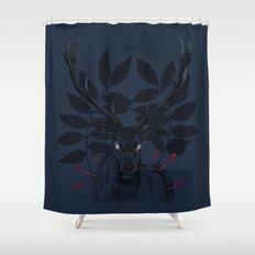 IIIIII Shower Curtain