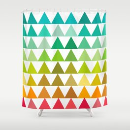 The triangles Shower Curtain