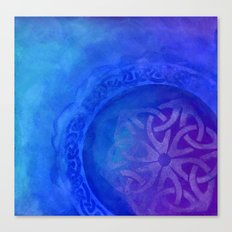 Symbols in the deep Canvas Print