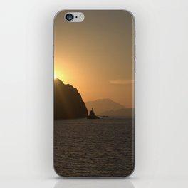 Sunset on Milos - Ellie Wen iPhone Skin