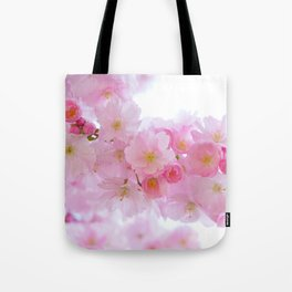 Pink Japanese Cherry Tree Blossom Tote Bag