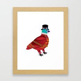 BEEFEATER PIDGEON Framed Art Print