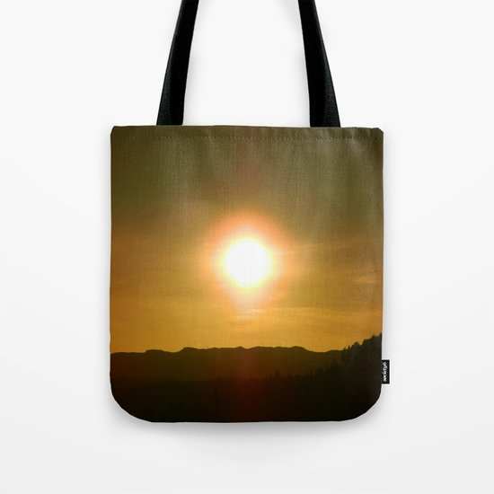 Evening Sun Of Early Spring |||| Tote Bag
