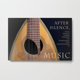 After Silence, Music Metal Print