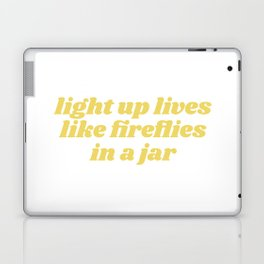 light up lives Laptop & iPad Skin
