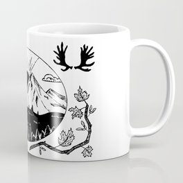 Canadian Mountain Range Coffee Mug