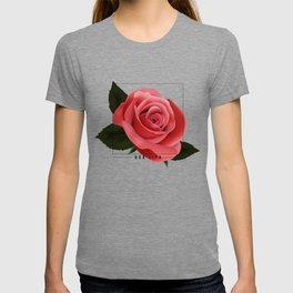 dua lipa: rose 03 T-shirt