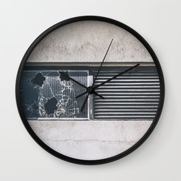 ghosts of silver past Wall Clock