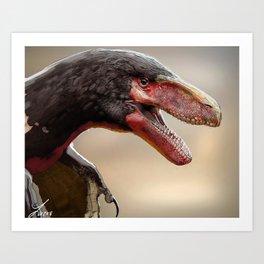 Utah Raptor Art Print