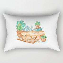 Travel Time Rectangular Pillow