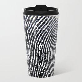 The Finger Print Travel Mug