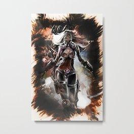 League of Legends NIGHTBLADE IRELIA Metal Print