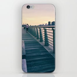Woman at the Waterfront  iPhone Skin