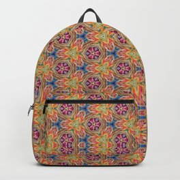hippie - pattern colorfull Backpack