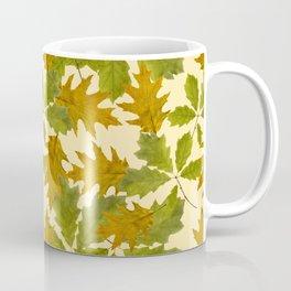 Leaves Camouflage Pattern Coffee Mug