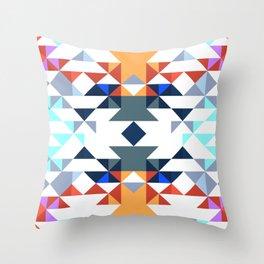 Aztec 5 Throw Pillow