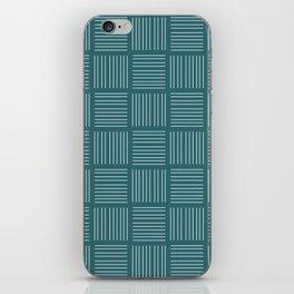 Spirit Water Stripe - Blue iPhone Skin