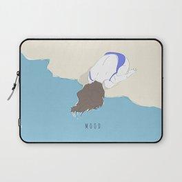 Mood - Girl on the Beach Laptop Sleeve