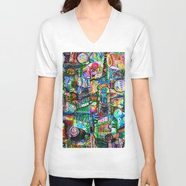 Backyard Garden Unisex V-Neck