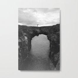 Arnarstapi Vault Metal Print