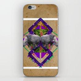 Rhinoceroses  iPhone Skin