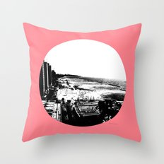 Tel Aviv Beach Throw Pillow