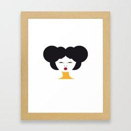 Japanese Line Framed Art Print