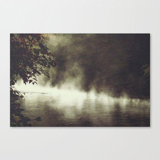 a place beyond - river scene Canvas Print