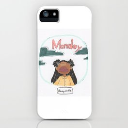 MONDAY iPhone Case