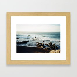 Punta de Lobos  Framed Art Print