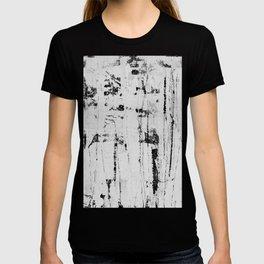 Distressed Grunge 102 B&W INVERSE T-shirt