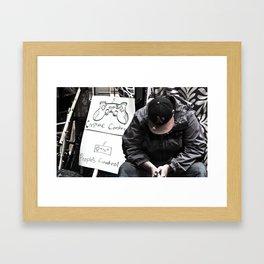 Corp. Control Framed Art Print