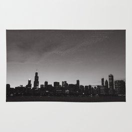 Chicago Skyline Rug
