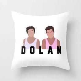 Dolan Twins Throw Pillow