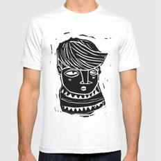 timide Mens Fitted Tee White MEDIUM