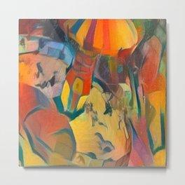 abstract Carnival ride Metal Print