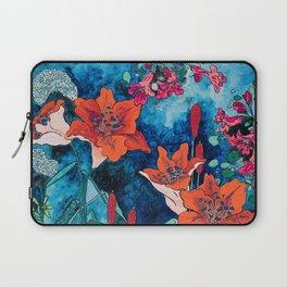 Blooming Night Garden: Twilight Laptop Sleeve