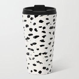 Modern Polka Dots Travel Mug