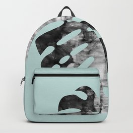 Composition tropical leaves VI Backpack