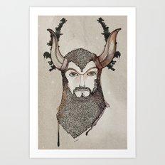 Minotaurus Art Print