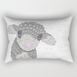 Little Lamb Rectangular Pillow