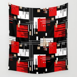 Abstract pattern Retro 2 Wall Tapestry