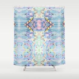 Future Effervescence Shower Curtain