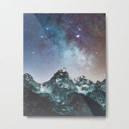 The Tip of Space Metal Print